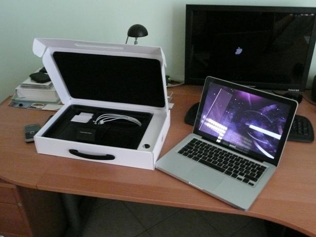 MacBook turned on