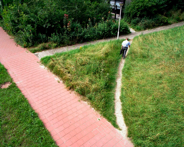 On desire paths… and software